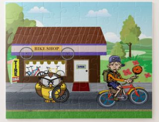 Bike Sale - Y'owl Get Some New Wheels! Jigsaw Puzzle