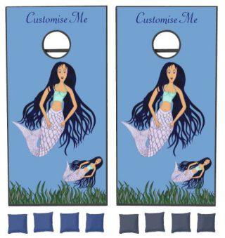 Mermaid 2 cornhole set
