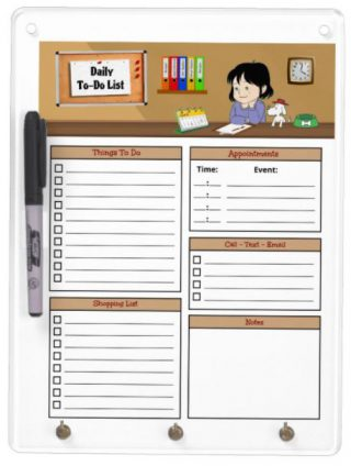 Kitchen Measurements Chart - Magnetic Dry Erase Sheet